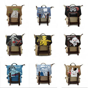 Image is loading Studio-Ghibli-My-Neighbor-Totoro-Rucksack-Shoulder-Backpack - e5389623a5