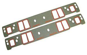 Small-Block-Chevy-Intake-Gasket-Set-350-Vortec-SBC-060-034-Thick-Center-Bolt