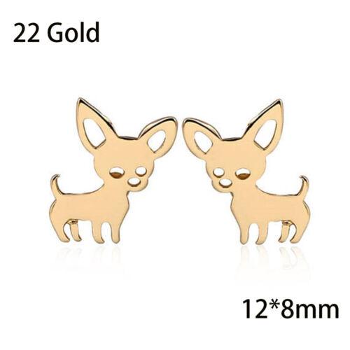 Fashion Women/'s 925 Silver Sterling Earrings Animal Ear Stud Jewelry Gift New
