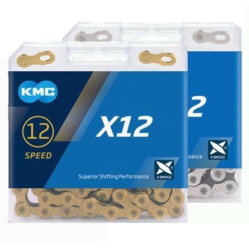 Kmc X12 Ti - N Gold 12 Cadena Velocidad