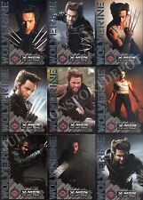X-MEN 3 THE LAST STAND WOLVERINE PORTRAIT OF A HERO INSERT CARD SET W1 TO W9 MA