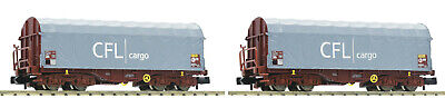 Aspiring Fleischmann N 837917 Set 3 Schiebeplanwagen Shimms Cfl Ep Vi Nip N Scale Toys & Hobbies