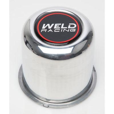 Weld Racing P605-5093 Polished 2.93 OD x 3.25 Tall Push Thru 4-Lug Replacement Center Cap