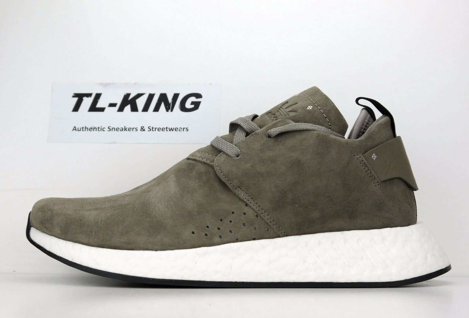 Adidas NMD C2 Suede Pack Simple Brown Core Black White BY9913 Msrp  160 FW