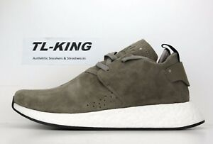 Adidas-NMD-C2-Suede-Pack-Simple-Brown-Core-Black-White-BY9913-Msrp-160-Fo
