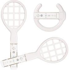 Set Racing Wheel Lenkrad Tennis-Schläger Controller für Nintendo Wii WiiU Sports