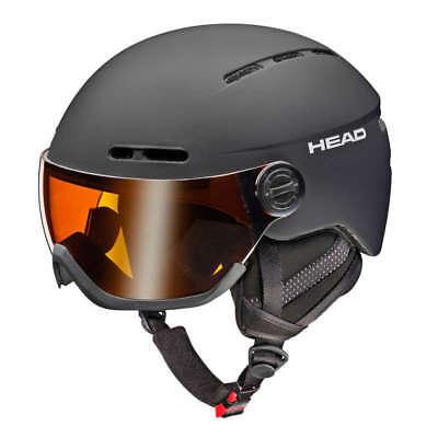 HEAD Skihelm KNIGHT black 324107 Visierhelm Größenwahl   NEUWARE
