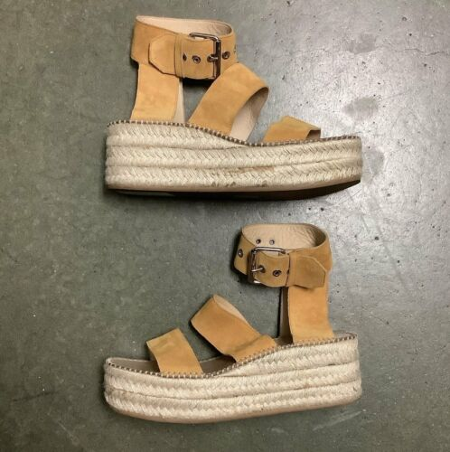 Rag & Bone Yellow Sandels Size 10