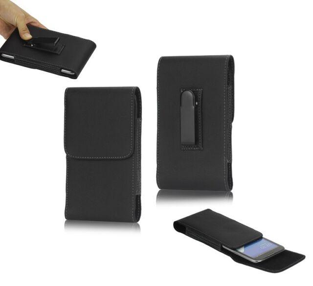Flip Belt Clip Metal Case Holster Vertical para => SAMSUNG Galaxy NOTE 4 N910 <<