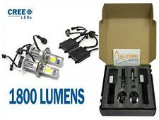 50w H7 CREE CHIP HEADLIGHT LED KIT HIGH POWER 5000K 1800 LUMENS VERY BRIGHT