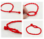 thumbnail 6 - Red String Protection silver Feather Bracelet Earth Jasper Adjustable Kabbalah