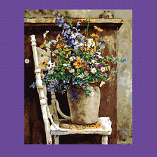 Retro Vase DIY Paint By Number Kits On Canvas Digital Oil Painting Home Decor