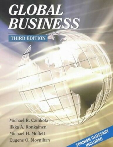 Global Business (The Harcourt College Publishers series in management), Czinkota