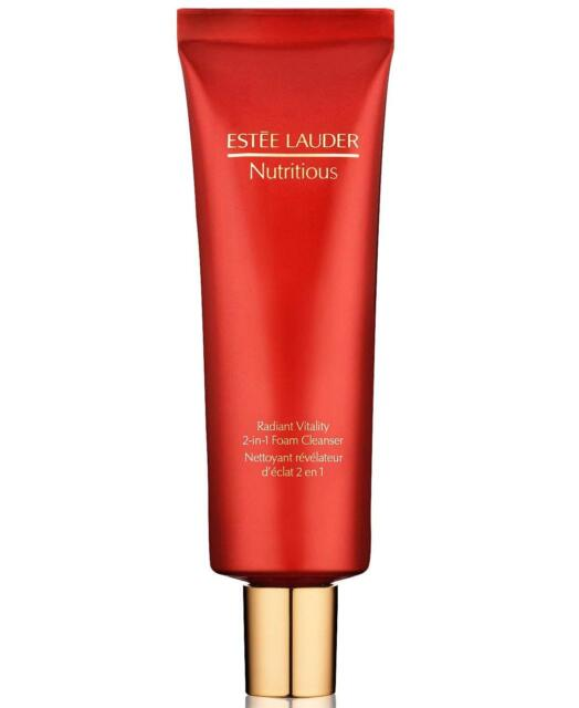 Estee Lauder 4.2 oz / 125 ml Nutritious Radiant Vitality 2-in-1 Foam Cleanser