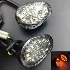 Clear LED Flush Mount Turn Signal For Yamaha YZFR6 03-05 R6S 06-07