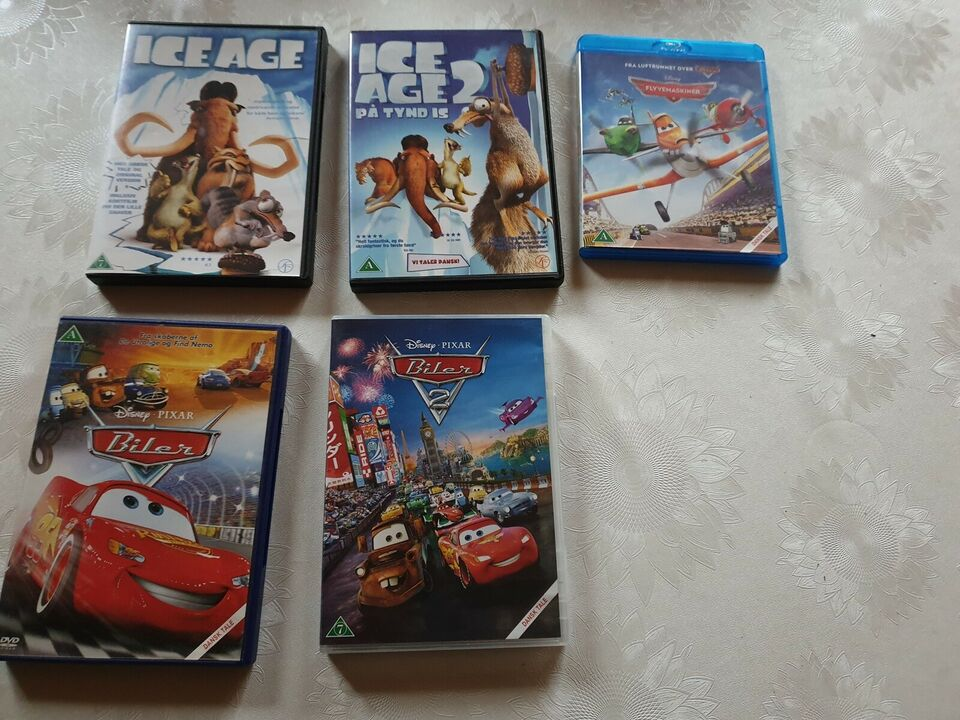 DVD, animation