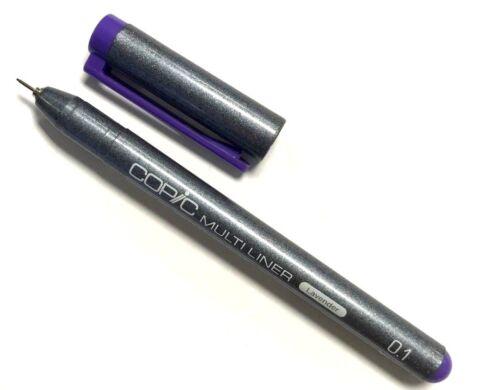 Farben wählbar Pigmentliner NEU! COPIC Multiliner Classic 0,1 mm versch