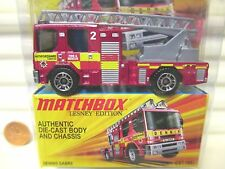 Matchbox Lesney Edition Red DENNIS SABRE FIRE ENGINE New Mint in Nu Mint Package