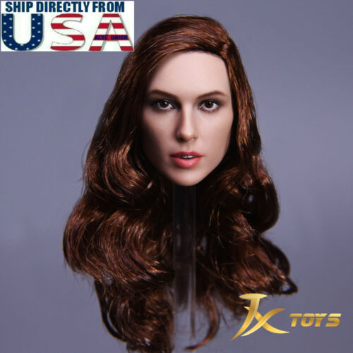 1//6 Female Head Sculpt A Gal Gadot Wonder Woman For Hot Toys Phicen Figure USA