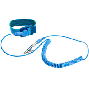 NEW-Anti-Static-Antistatic-ESD-Adjustable-Wrist-Strap-Band-Blue