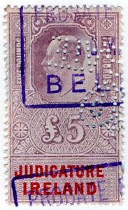 (I.B) Edward VII Revenue : Judicature Ireland £5