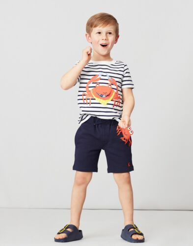 Joules Boys Hamden Novelty Short Navy Crab