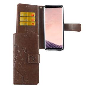 Samsung-Galaxy-S8-Funda-Estuche-Movil-Protector-Flip-Braun