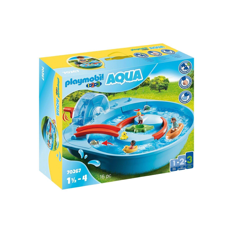 PLAYMOBIL 70267 - 1.2.3 AQUA - Fröhliche Wasserbahn