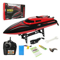 H101 2.4g Rc High Speed Racing Boat 180° Flip Radio Controlled Electric Toy Gift