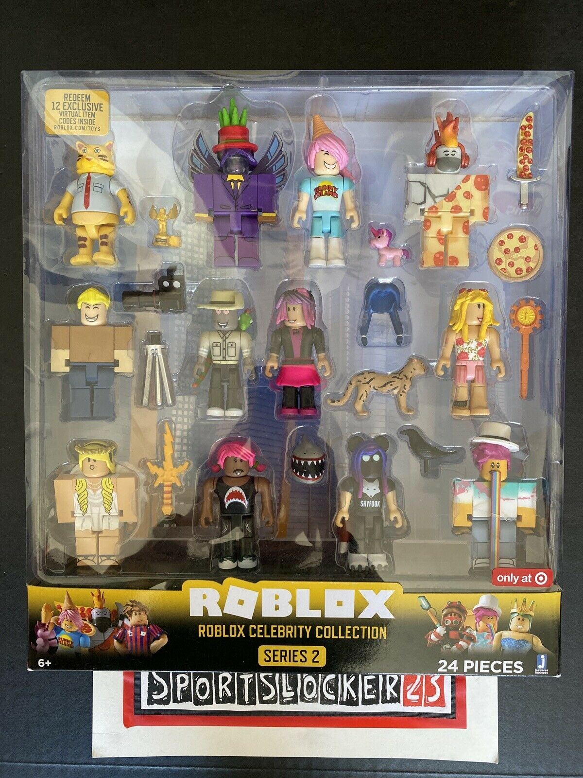 Roblox Celebrity Collection Series 2 Mini Mystery Figures Full Box