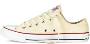 All Unisex 5 £50 Uk3 Rrp Unbleached Sneakers Original Taylor Star Chuck Converse fqE4gg