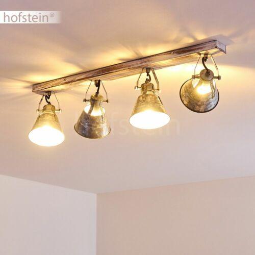 Retro Flur Strahler Zink Wohn Schlaf Zimmer Beleuchtung 4-flammige Decken Lampen