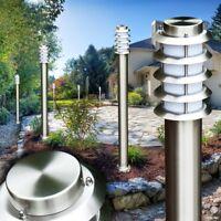 Lampada Lampioncino Giardino Illuminazione da Esterno Luce Acciaio Inox Design