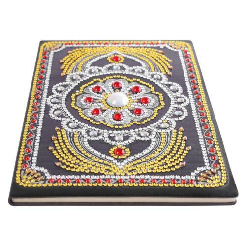 5D DIY Diamond Painting Cross Stitch Craft Notebook Diary Book Sketchbook Gift