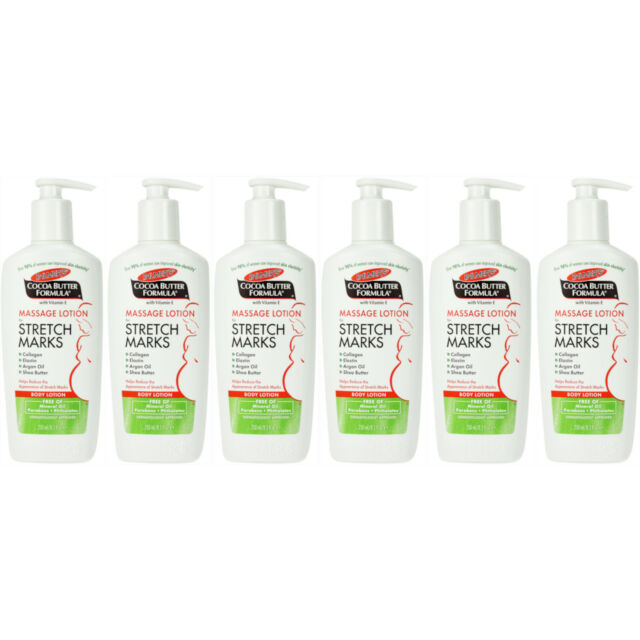 6 Pack Palmer S Cocoa Butter Formula Massage Cream For Stretch