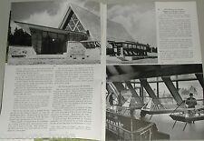 1956 magazine article, Alexander Graham Bell, new Museum opening in Nova Scotia