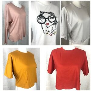 Forever-21-and-SHEIN-Shirts-Mixed-Lot-of-5-SIze-Small-Medium