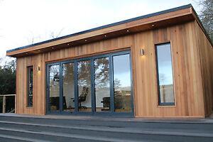 8m x 4m Garden Room Home Office Studio Summer House Log