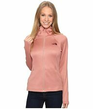 CHEAP Sale Women THE NORTH FACE Agave Hoodie Soft Fleece Zip Jacket Coat Rose S