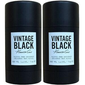 (2 PIECE) KENNETH COLE VINTAGE BLACK 2.6 oz ALCOHOL FREE DEODORANT - STICK