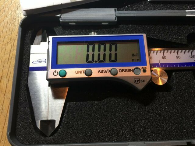 "iGaging Digital Caliper Absolute Origin Smart Bluetooth IP54 6/""//150mm"