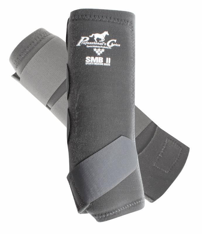 Professional's Choice SMBII Charcoal Sport Medicine Boots Prof Small S SMB Pro