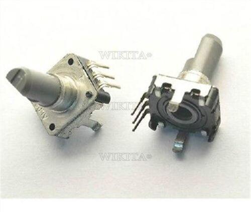 2Pcs EC12 Lotus 15Mm E12 Audio Encoder Rotary Encoder 360 Deg New Ic mi