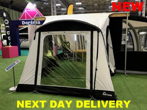 Starcamp Quick & Easy 225 Inflatable AIR Caravan Porch Awning New for 2019