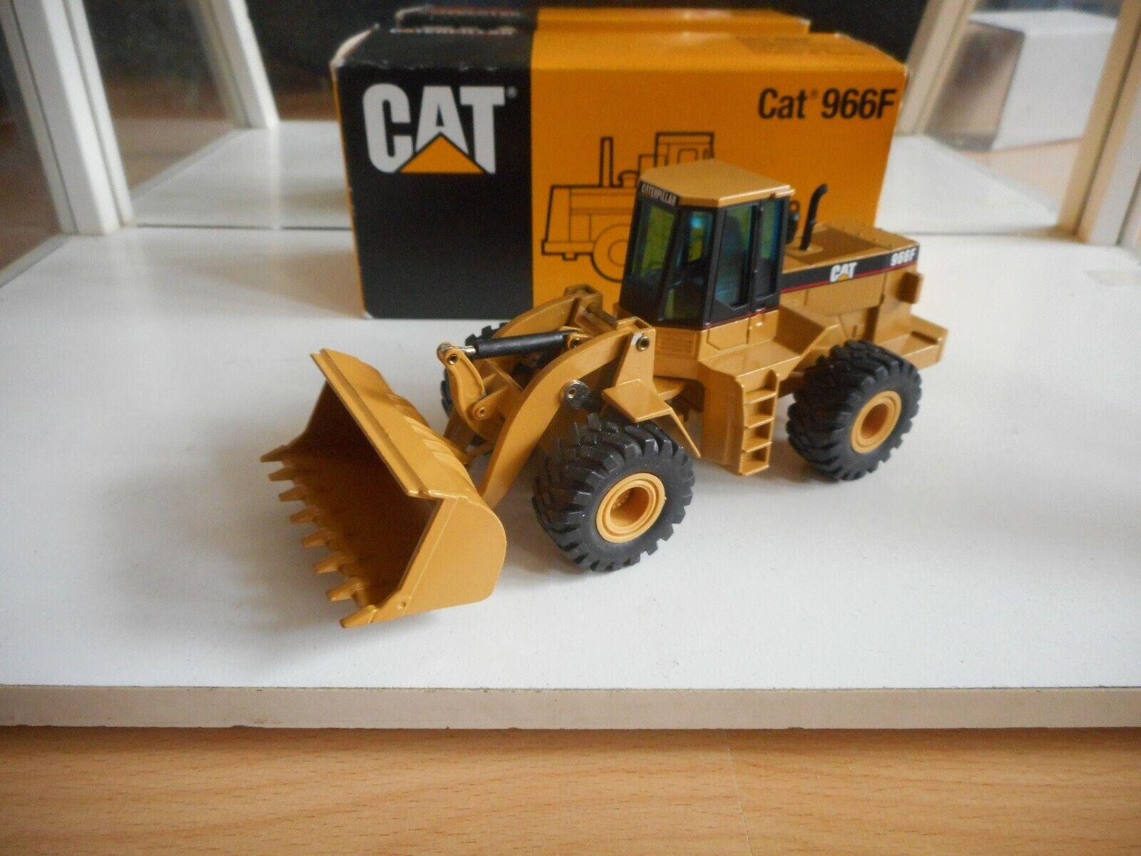 NZG Caterpillar Cat 966F Wheel Loader in Yellow on 1 50 in Box