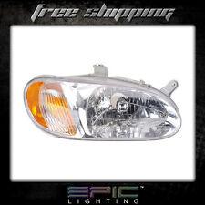 Fits 1998-01 Kia Sephia Headlight Headlamp Right Passenger Only