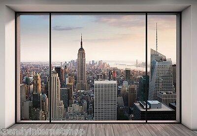 Fototapete Komar Penthouse 8-916 New York Skyline Größe 368 x 254 cm