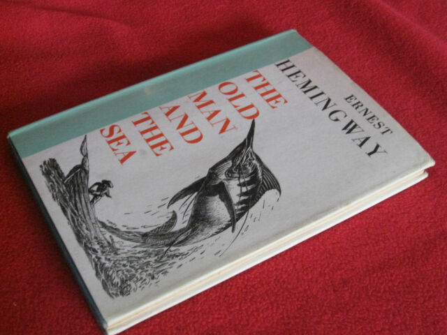 Old Man And The Sea ~ Ernest Hemingway HbDj   C F Tunnicliffe & Raymond Sheppard