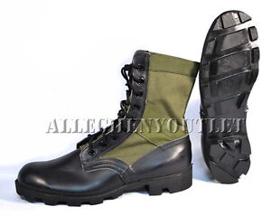 lot nos us military vietnam jungle combat boots spike. Black Bedroom Furniture Sets. Home Design Ideas
