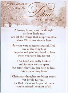 Grave-Card-Christmas-Dad-with-FREE-Holder-CM10-Funeral-Memoriam